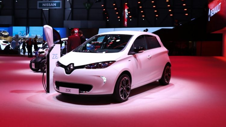 Renault Zoe at Geneva Auto Salon 2019