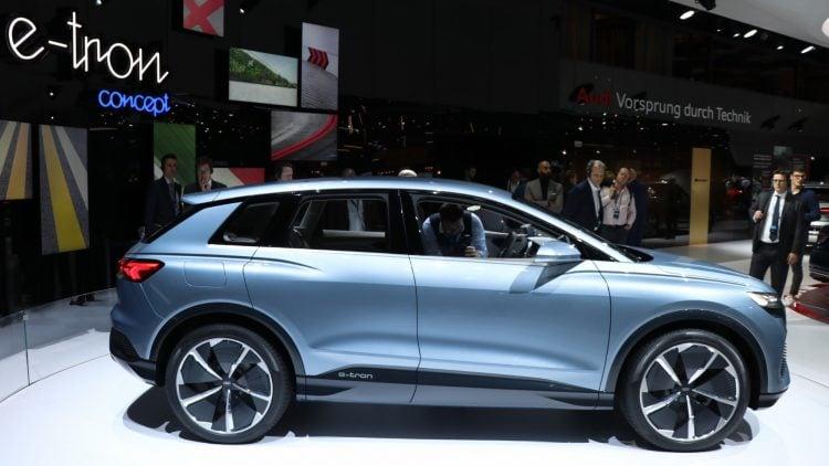 Audi 4 etron concept Geneva Auto Salon 2019