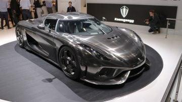 Koenigsegg Regera Geneva Auto Salon 2019