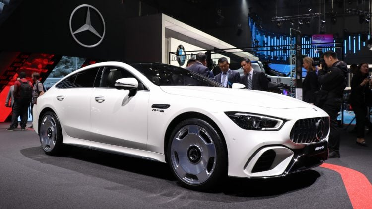 Mercedes-Benz GT AMG 4 Door White