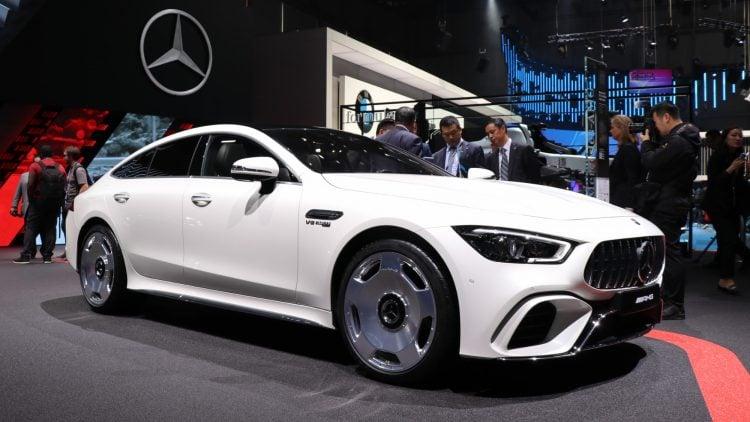 Mercedes Benz GT AMG 4 Door White