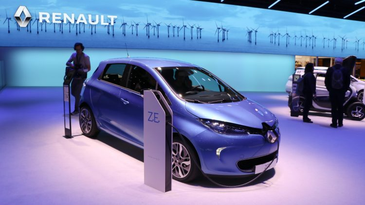 Renault Zoe - Germany's Favorite Electric Car in the First Half Year 2019