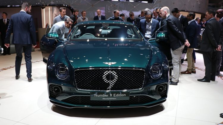 Bentley Number 9 Edition at Geneva Auto Show 2019
