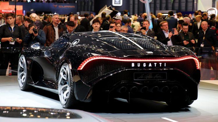 Bugatti La Voiture Noire at Geneva Auto Salon 2019 -  2019 (Full Year) Europe: Car Sales per EU and EFTA Country