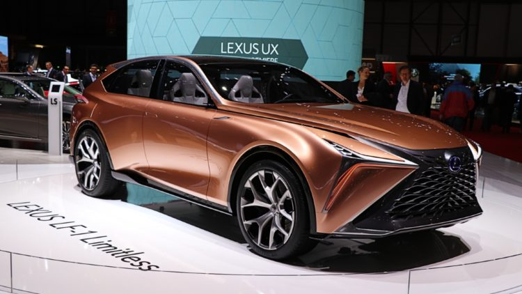 Lexus LF-1 Limitless - Lexus was the most-improved best-selling car brand in Japan in 2019.