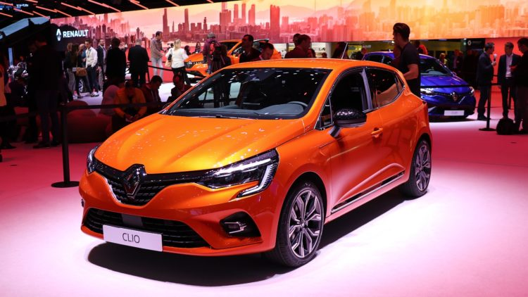 The Renault Clio was again the best selling car model name in 2019