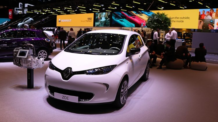 The Renault Zoe was the best-selling electric car in Germany in 2019 for the third successive year.