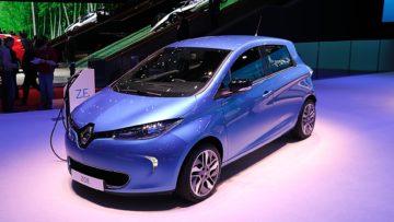 Renault Zoe at Geneva 2019