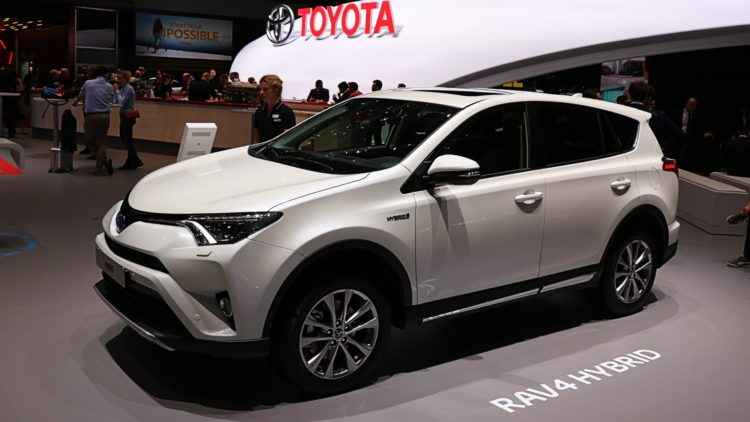 Toyota RAV4 - the 16th best-selling car model in Japan in 2019.