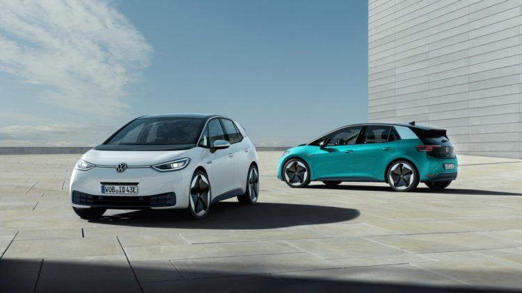 Volkswagen forecasted electric car production of the ID family to reach 1.5 million in 2025.