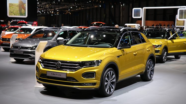 VW T ROC In 2019, Volkswagen sales worldwide increased by 0.5% to 6,278,300 cars.