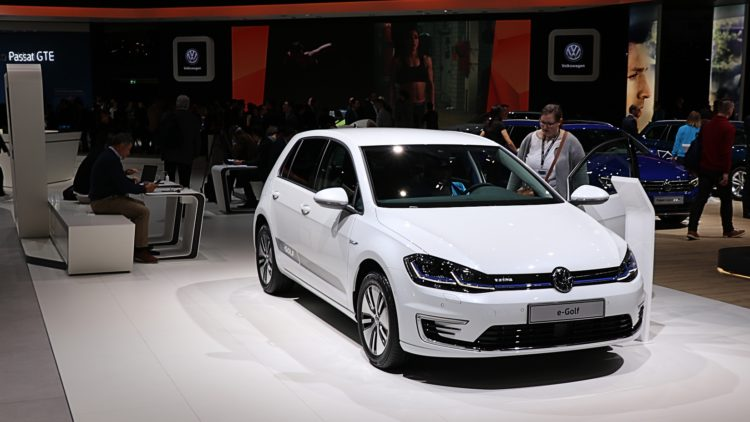 The 250,000th electrified Volkswagen sold was a VW e Golf in 2019.
