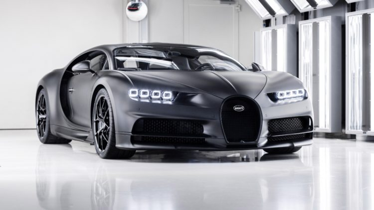"The 250th Bugatti produced is the Chiron Sport ""Edition Noire Sportive"""