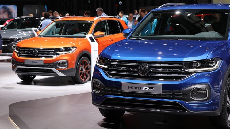 SUVs took a 38% market share in Europe in 2019