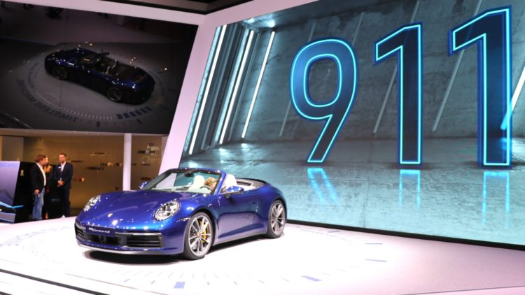 Porsche was the best-performing car brand in Europe with an increase in car sales of 25% during Q1 2020