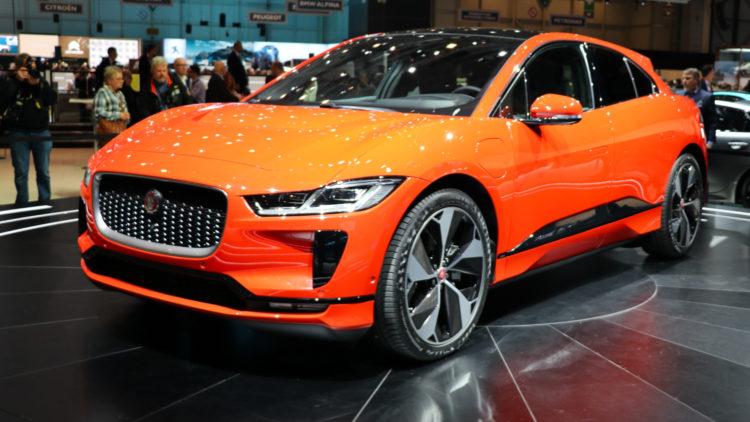 The Jaguar I Pace was the second-most-popular car model in the UK in April 2020.