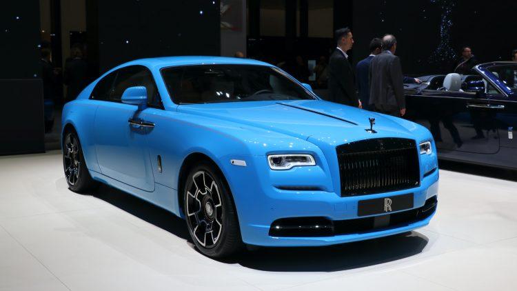 Blue Rolls Royce Geneva Auto Salon 2019