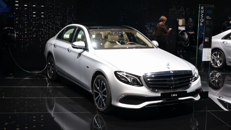 Mercedes-Benz E-Class.-- tenth best-selling car model in the Britain in May 2020
