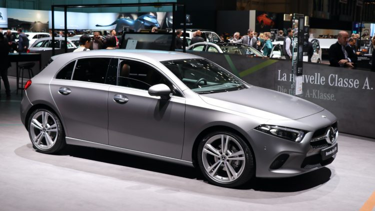 The Mercedes A Class was the sicht best-selling car model in Britain during the first half of 2020.