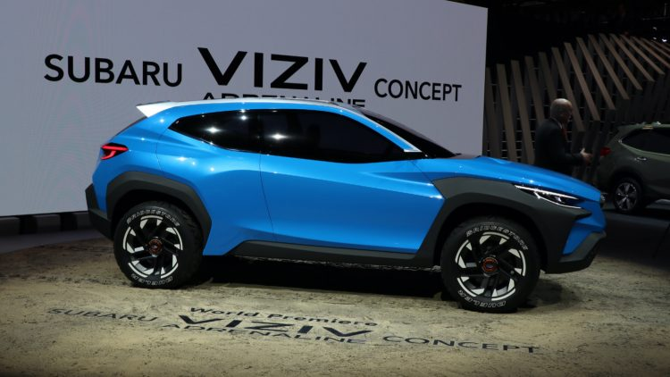 Subaru Viziv Concept. First semester 2020: Toyota was the leading car brand in Japan, the Toyota Raize the best-selling car model, and the Honda N-Box the favorite kei minicar.