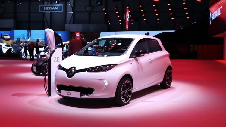 Renault Zoe - 9th best-selling car in France during the first half of 2020