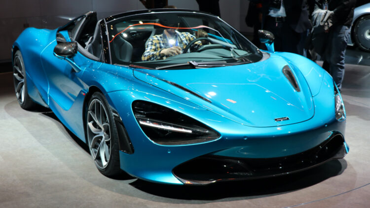 McLaren Geneva 2019 2020 (Jan - July) International: Global Worldwide Car Sales