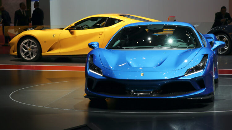 Ferraris at Geneva Auto Salon 2019  Q1-Q3/2020: Germany was the largest single-country car market in Europe. Car sales in the European Union (EU), EFTA, and the UK contracted 29%.