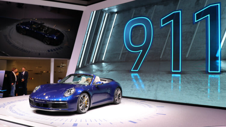 2020 Porsche Carrera 4S  2020 (Q1-Q3): The Volkswagen Group was the largest carmaker in Europe with Volkswagen the best-selling car brand and the VW Golf the top-selling car model.