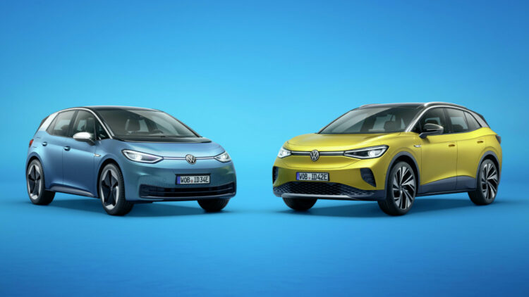 The battery-electric ID3 and ID4 are key to Volkswagen reducing emissions in Europe in 2020 and 2021 below the CO2 tragets.  Most car brands are on target to meet CO2 targets in 2020 in Europe while forecasts show electric cars taking a 15% share of car sales in 2021.