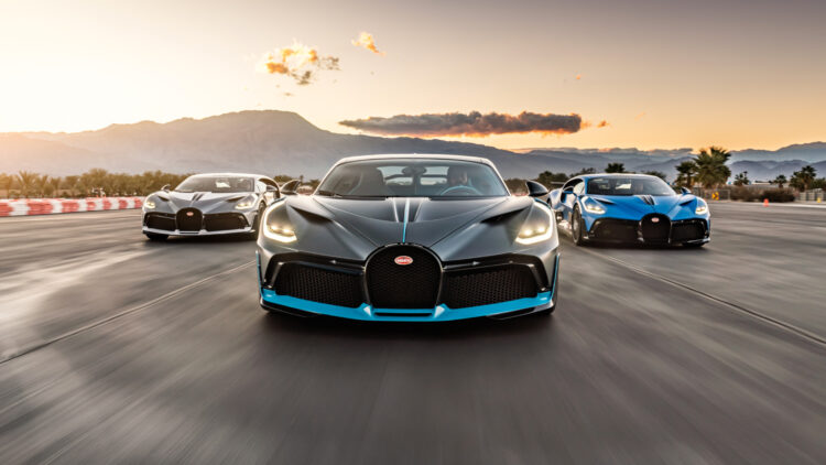 Bugatti delivered the first Bugatti Divo and Chiron Super Sport cars in the USA at the start of 2021. Sales are limited to 40 and 60 cars.