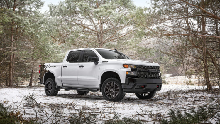 2021 Chevrolet Silverado Realtree Edition © Chevrolet In 2020, GM gained market share in the USA despite weaker sales for Chevrolet, Buick, Cadillac, and GMC trucks and cars.