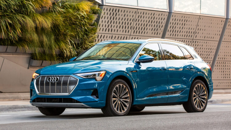 In 2020, Audi of America car and SUV sales in the USA were 17% lower with the Q5 and Q7 the top-selling models. Q3 and e-tron gained the most.