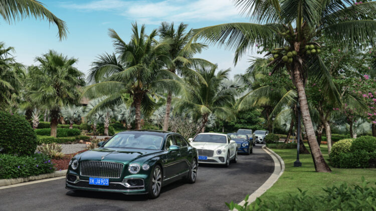 Bentley's biggest growth in 2020 was in China, where sales increased by 48 percent to 2,880 cars (1,940 cars sold in 2019).