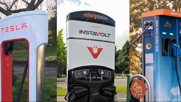 Revealed: UK's top ranking electric vehicle networks Tesla and InstaVolt were rated the best charging networks in Britain for electric cars by drivers of electric vehicles in the UK in 2020.