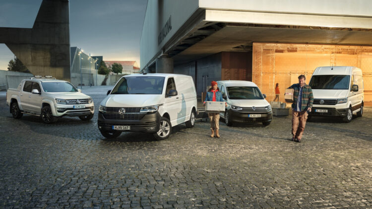 In 2020, global Volkswagen Commercial Vehicles (VWCV) sales contracted by a quarter to 371,700 vehicles worldwide. The VW T-series and Caddy were the top-selling models.