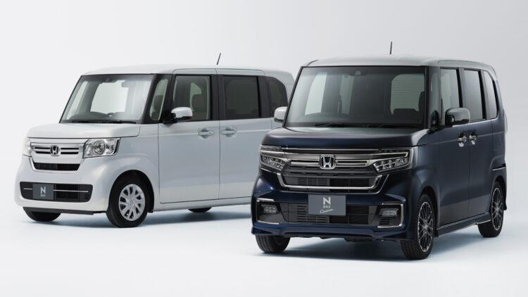 Honda N-Box © Honda Japan 2020 (full year): Daihatsu was the top mini-vehicle maker in Japan, Suzuki the best-selling minicar brand, and the Honda N-Box the top-selling Kei model.