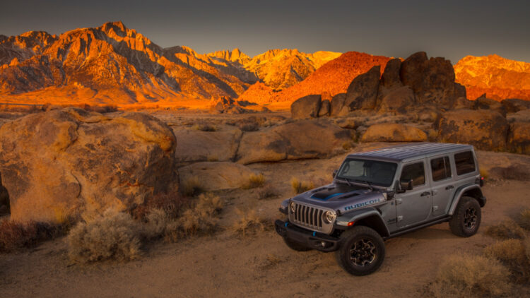 2021 Jeep® Wrangler Rubicon 4xe In 2020, FCA sales in the USA for most Jeep, Ram, and Chrysler models were weaker, Dodge and Fiat performed badly but the Jeep Gladiator and Alfa Romeo Stelvio models increased sales.